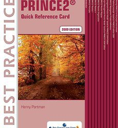 PRINCE2 2009 Edition Quick Reference Card (Engels)