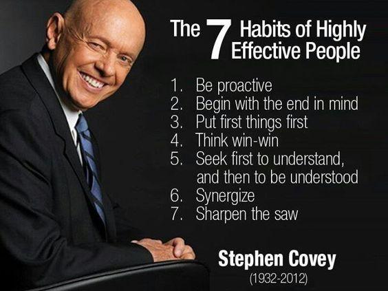 Masterclass: Stephen Covey – Hoe je zelf wendbaar en Agile kunt worden.
