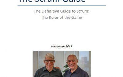 Scrumguide 2017 update details