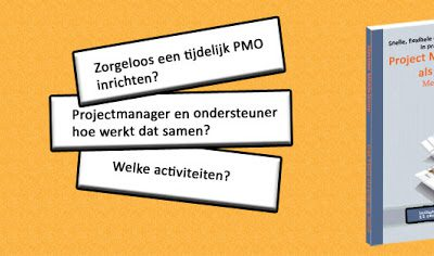 Boek: Project Management Office (PMO) als pop-up shop