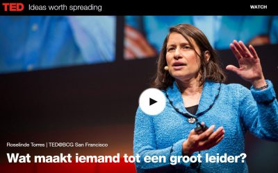 TedX ROSELINDE TORRES – WHAT IT TAKES TO BE A GREAT LEADER