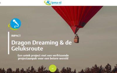 Dragon Dreaming projectaanpak voor geluksroute