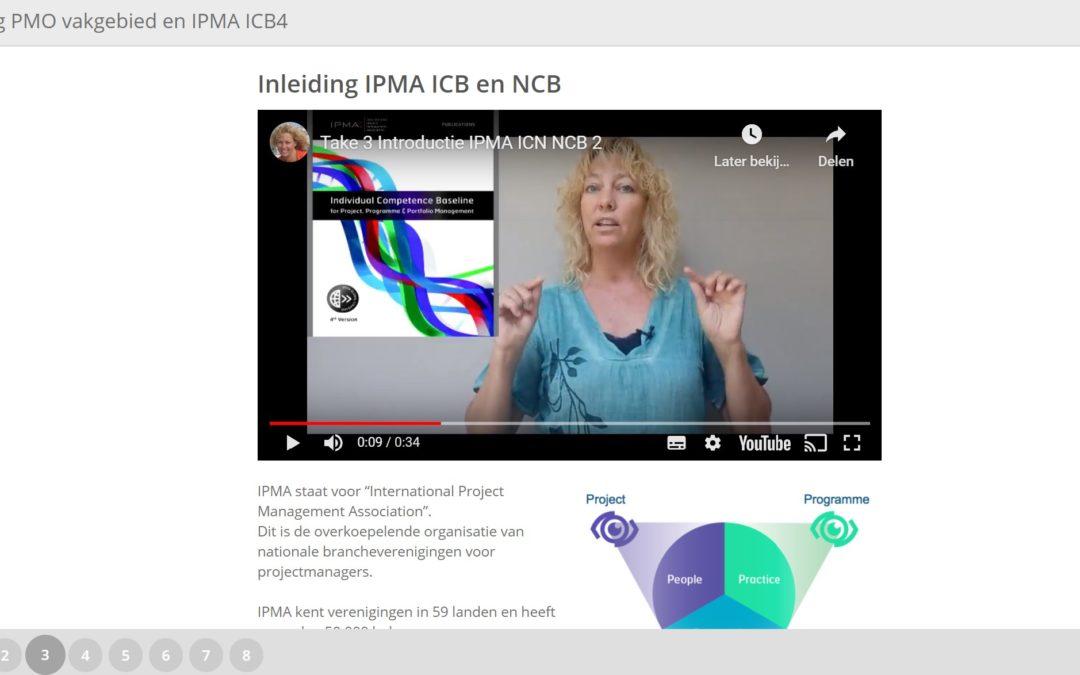 IPMA PMO opleiding (e-learning) + gratis templates