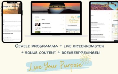 Live Your Purpose programma (online)